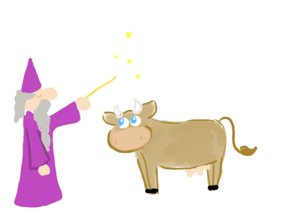 vraja pentru vaci