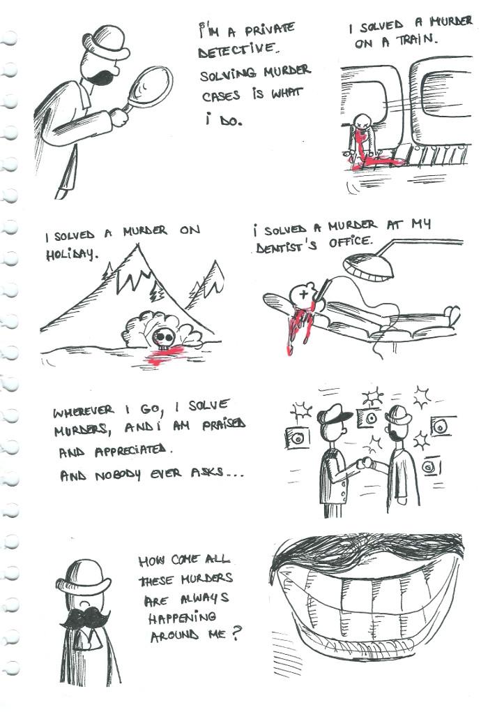 hercule poirot comic